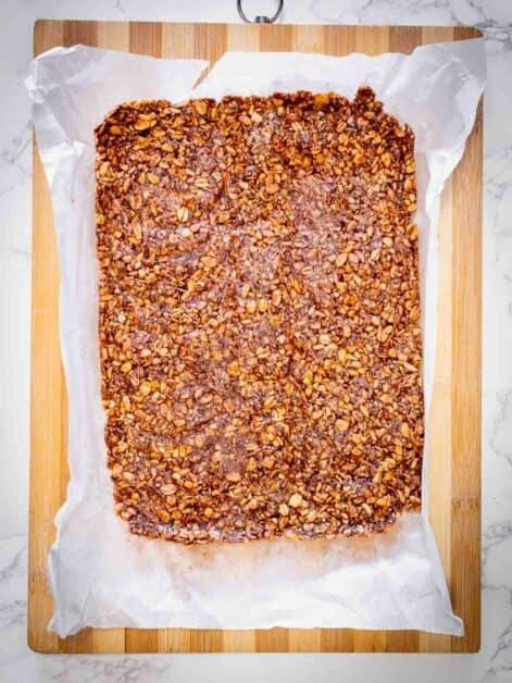 cooled granola bars