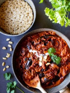 Indian Eggplant Curry