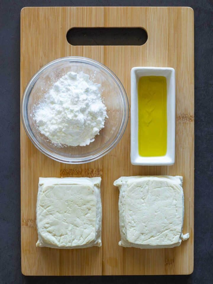 Crispy Tofu Ingredients