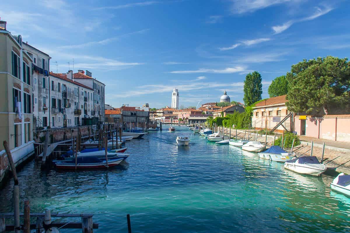 Venice pistine waters