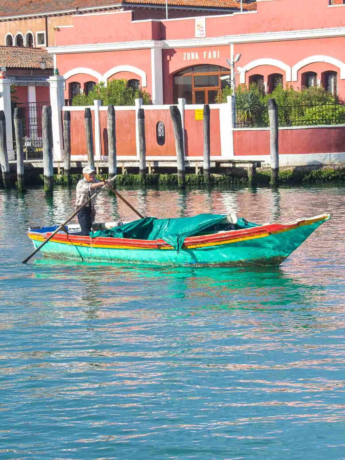 Venice Boatman