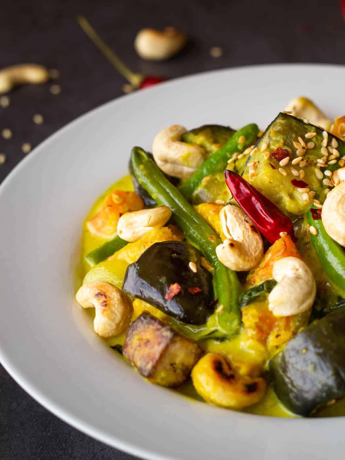 vegan thai yellow curry