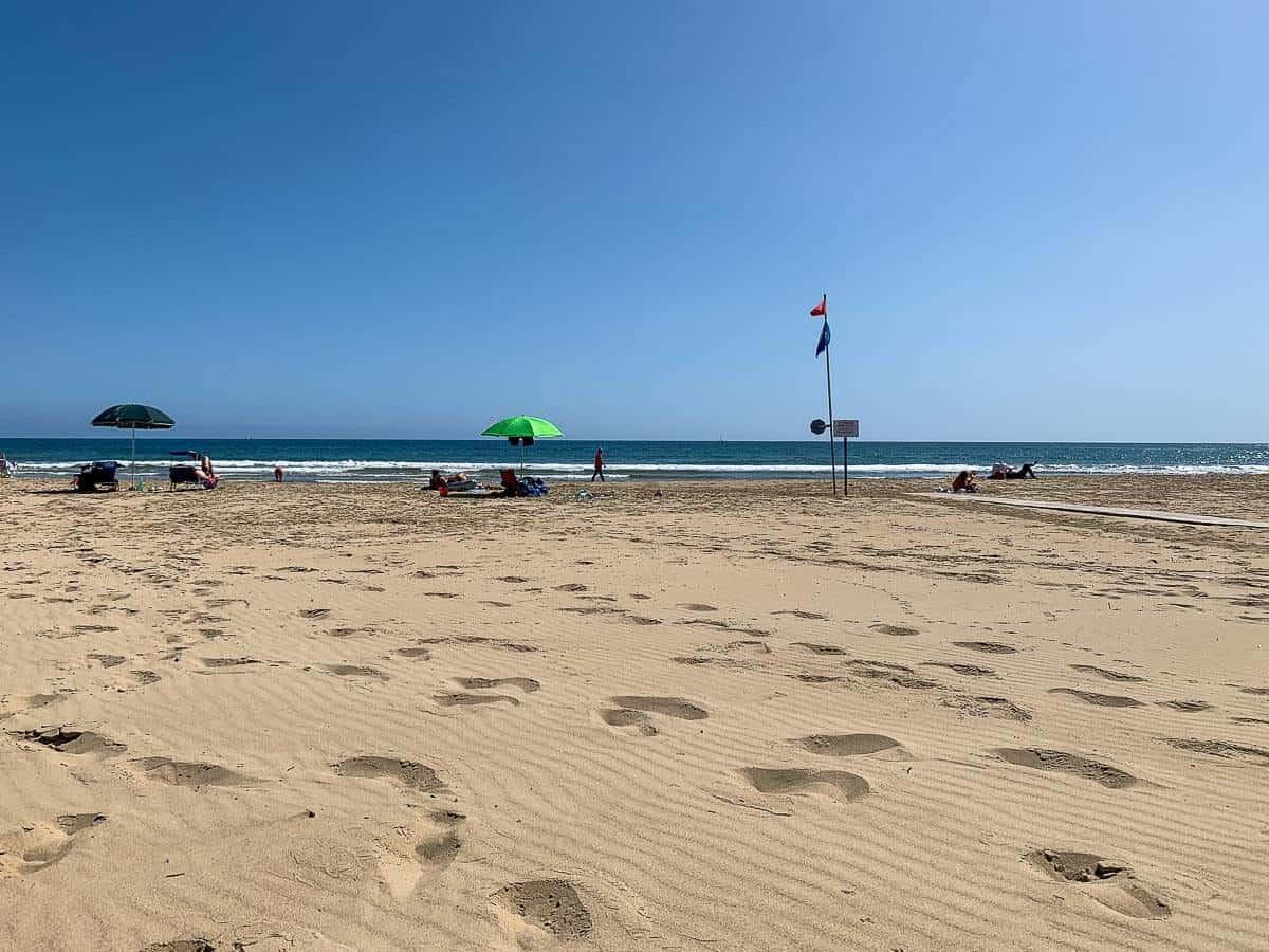 White Fine Sand Separo Beach