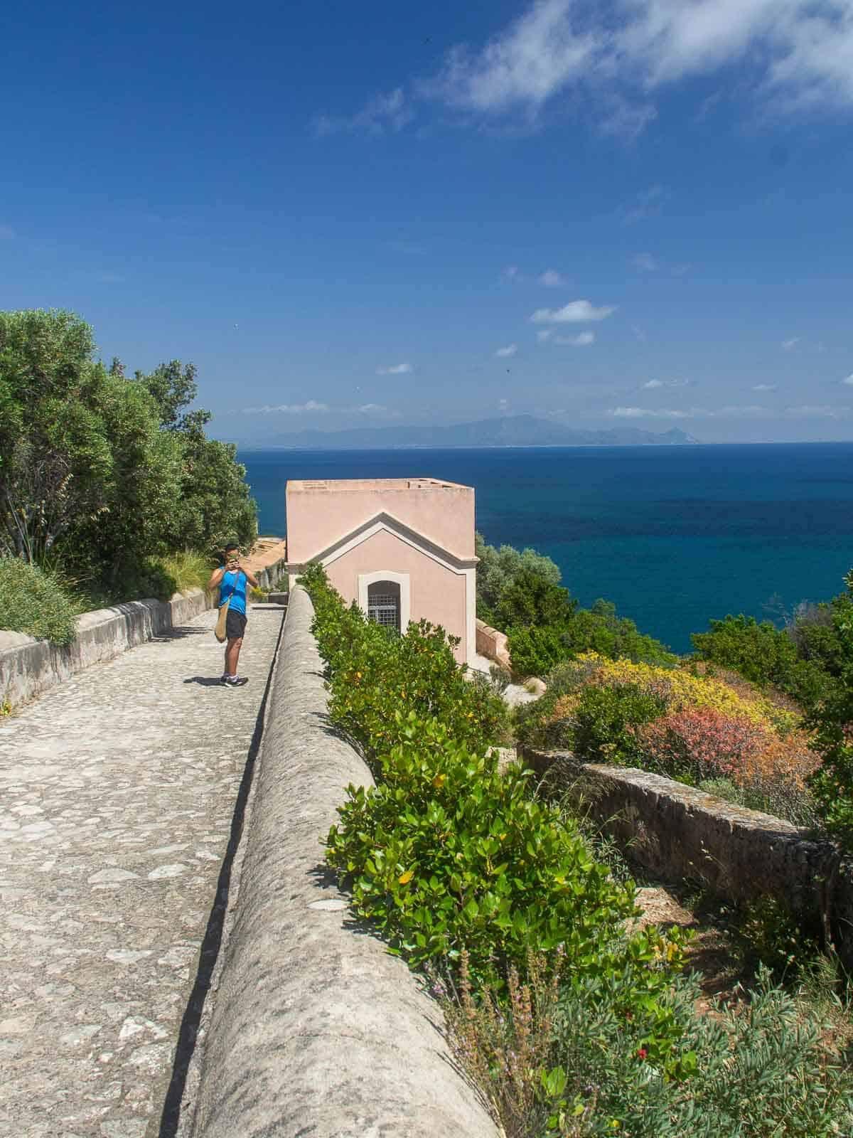 Panoramic View PArco di Ulisse
