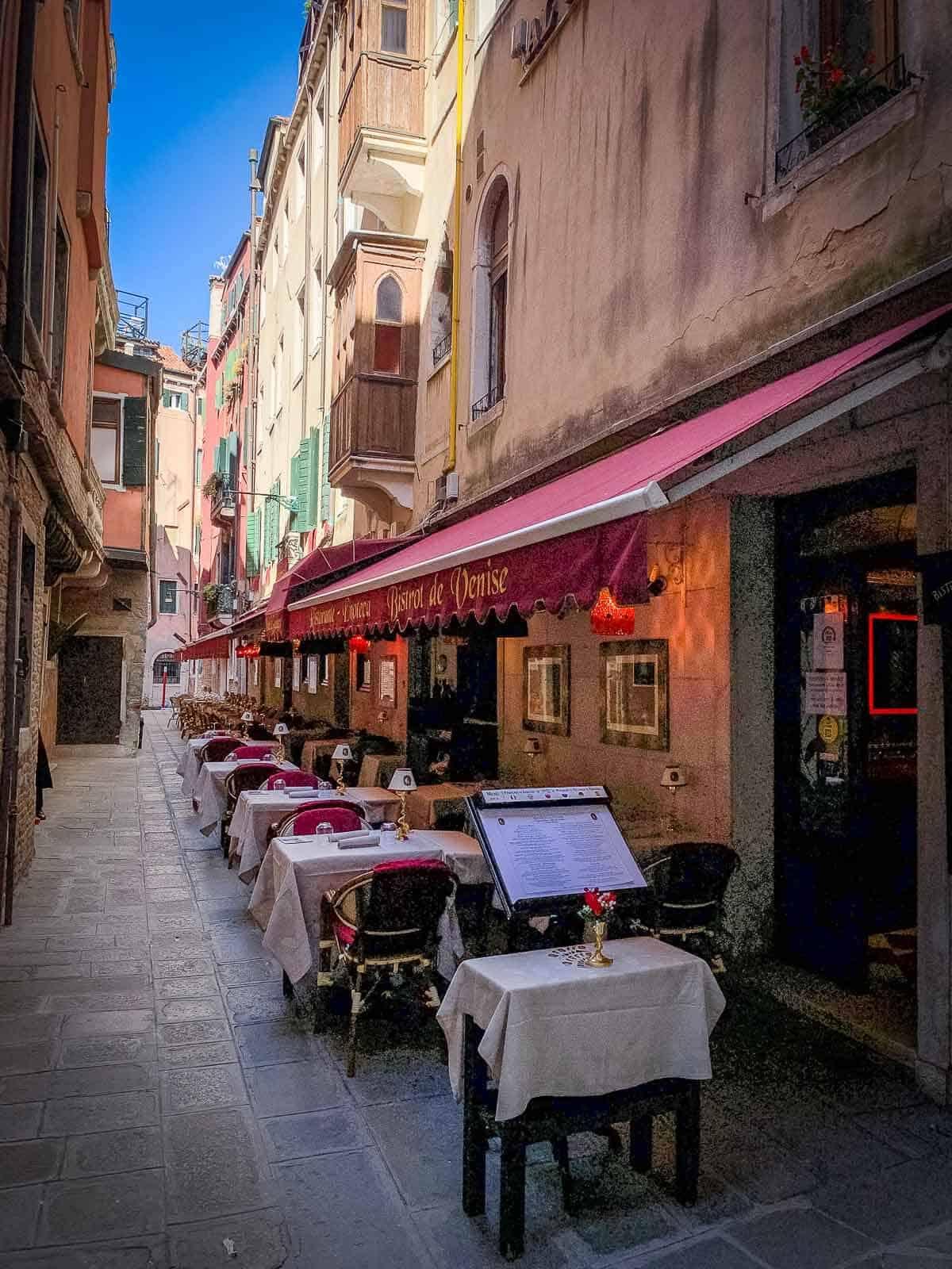 restaurans in Venice