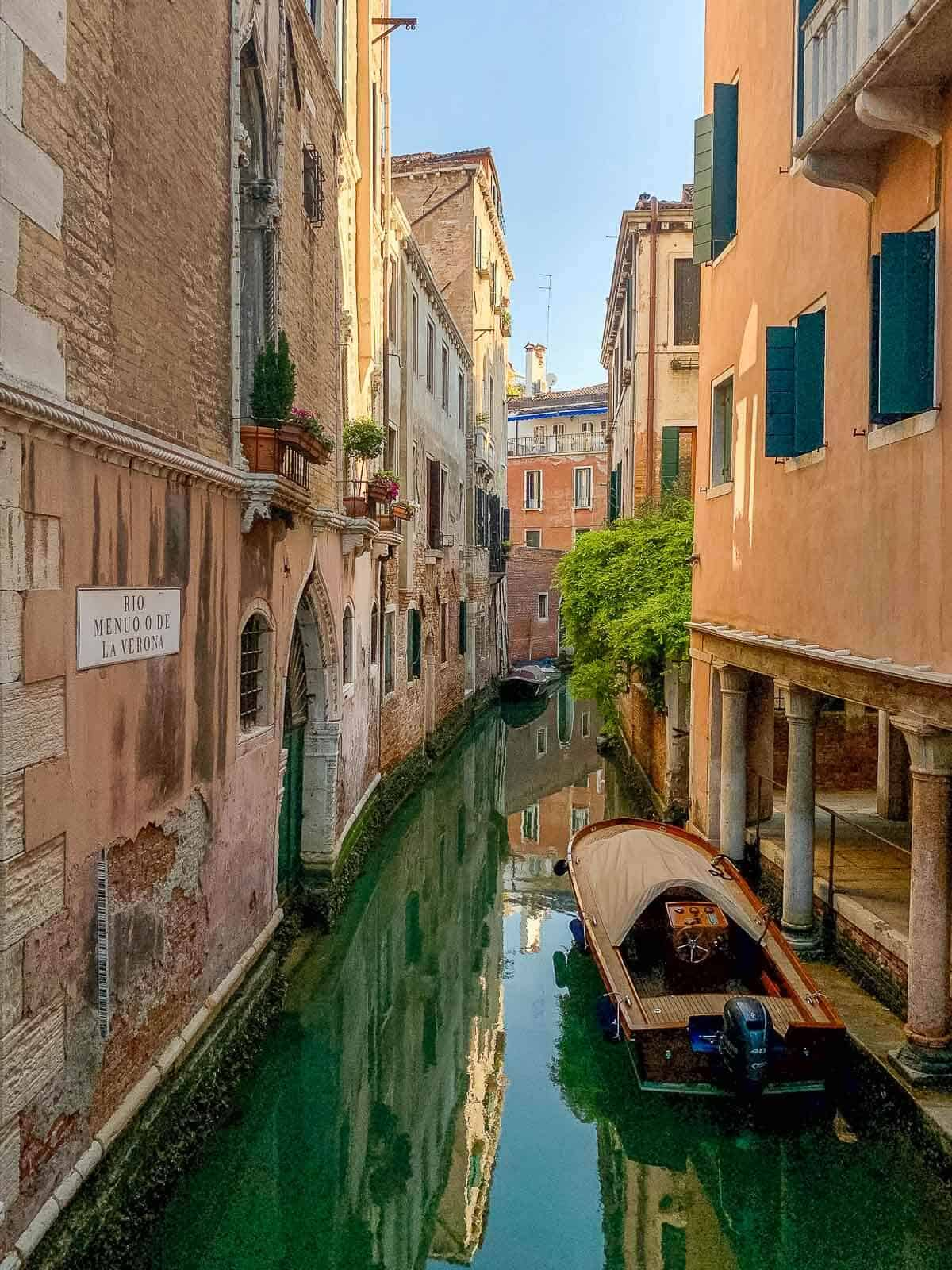 Wooden Boat Venice