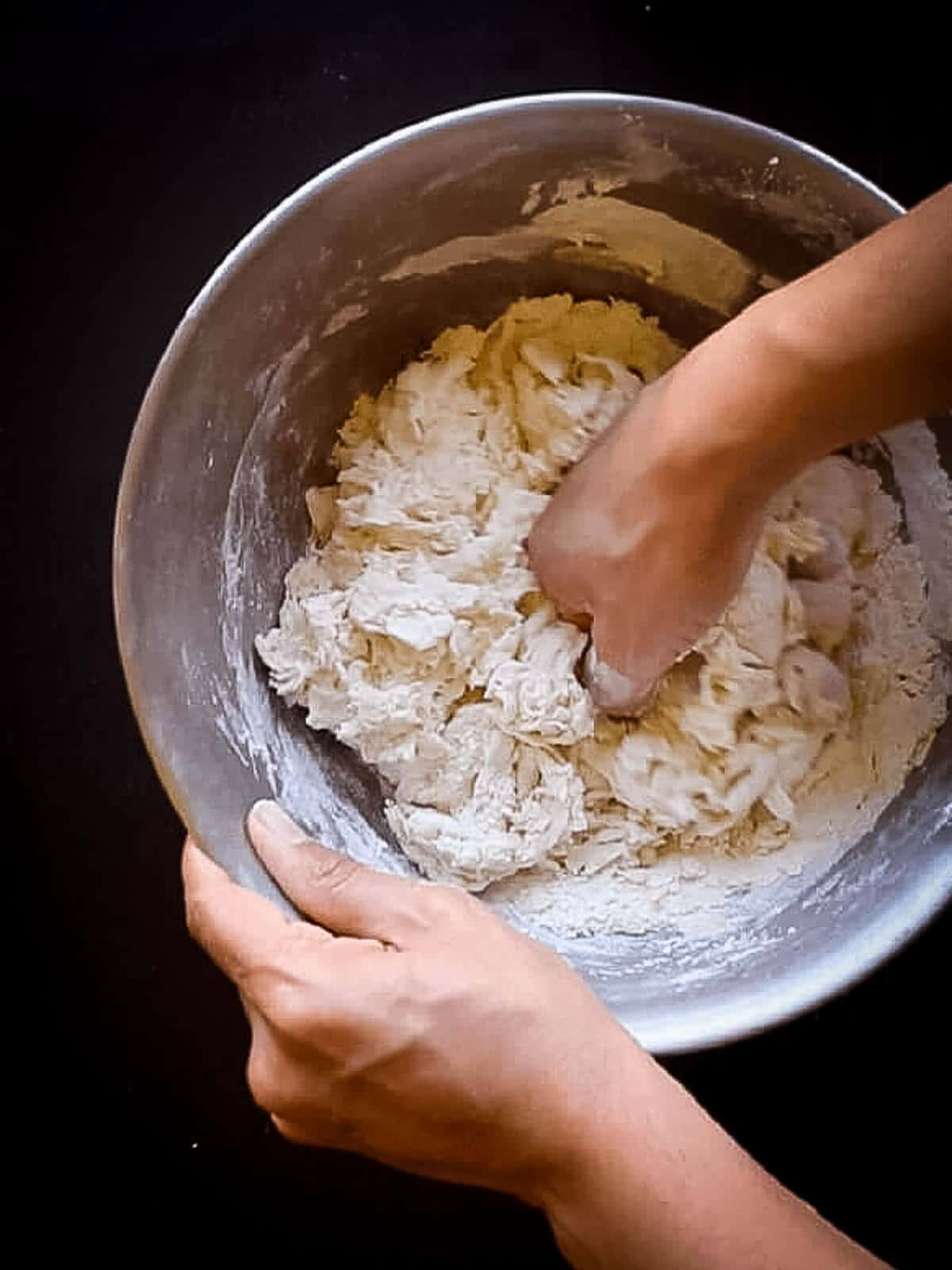 kneading bread buns Ingredients